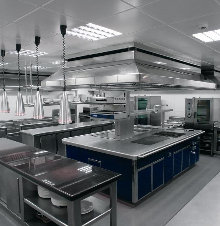 Es necesaria la extinci n autom tica en la cocina de un for Planos de una cocina industrial