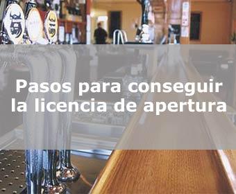 Pasos para conseguir la licencia de apertura